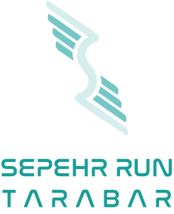 Sepehr Run Tarabar Logo - Partial Lines