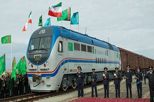 Iran-Turkmenistan-Kazakhstan railway symbol of friendship